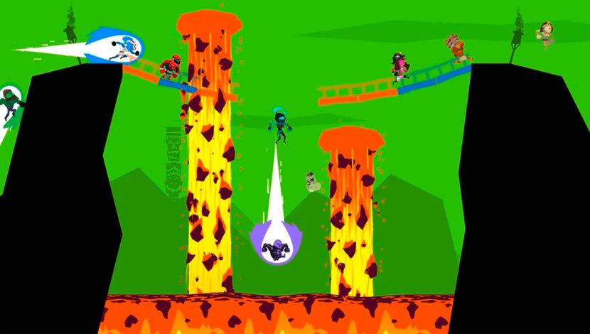 Runbow - 13AM Games - 13AM Games - Blacknut Cloud Gaming