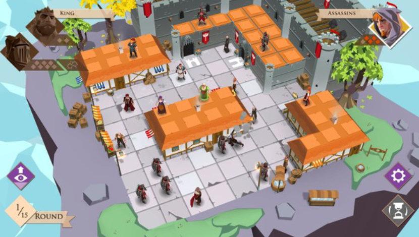 King and Assassins - Playsoft - Asmodee Digital - Blacknut Cloud Gaming