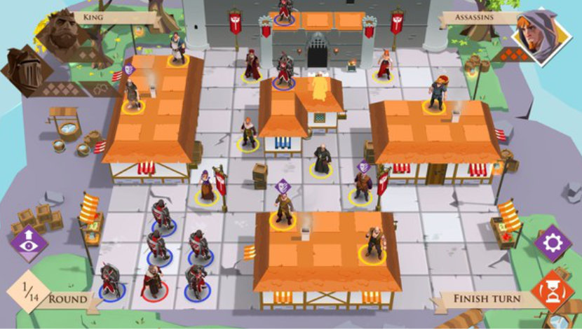 King and Assassins - Playsoft - Asmodee Digital - Blacknut Cloud Gaming