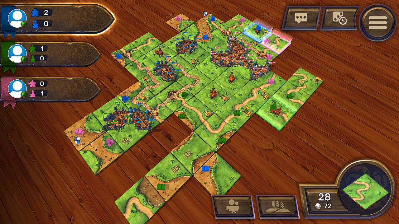 Carcassonne - Tiles & Tactics - Asmodee Digital - Asmodee Digital - Blacknut Cloud Gaming