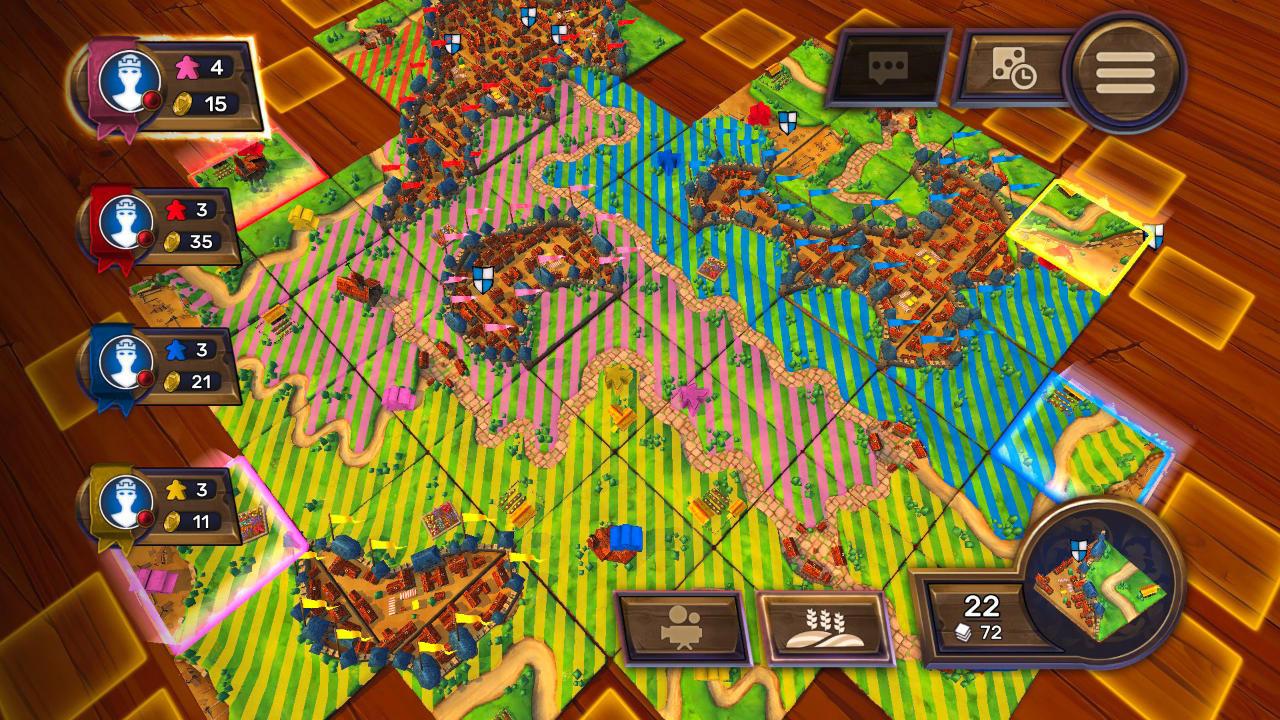 Carcassonne - Tiles & Tactics - Asmodee Digital - Asmodee Digital - Blacknut Cloud Gaming