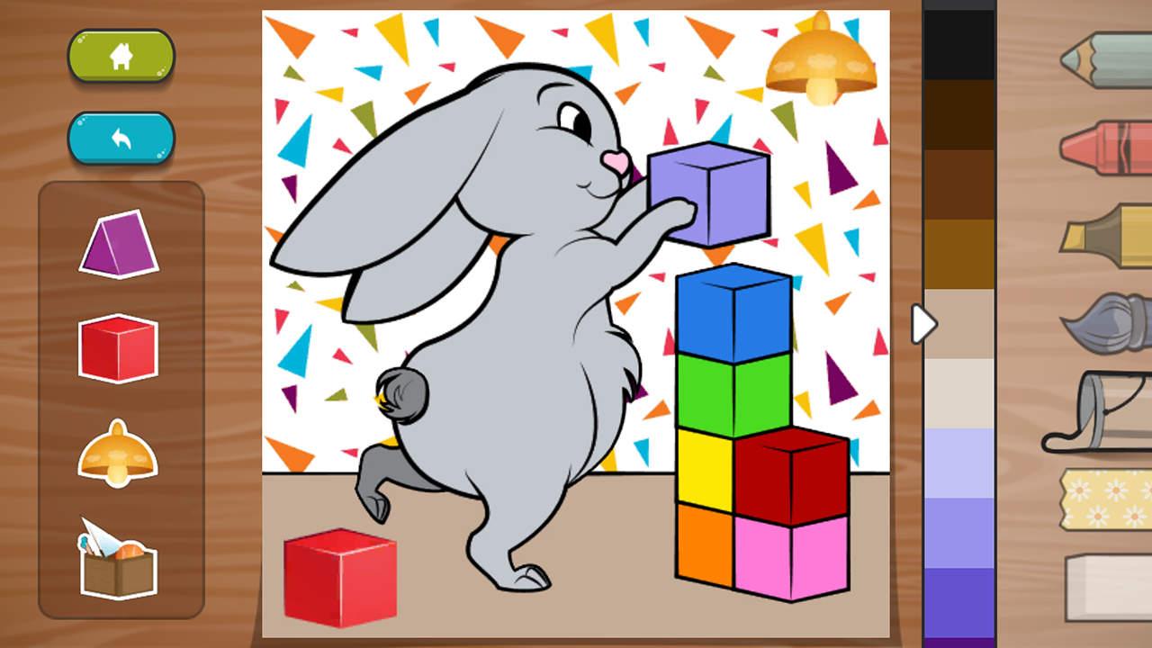 Kids: Animal Colouring - Inlogic Games - Inlogic Games - Blacknut Cloud Gaming