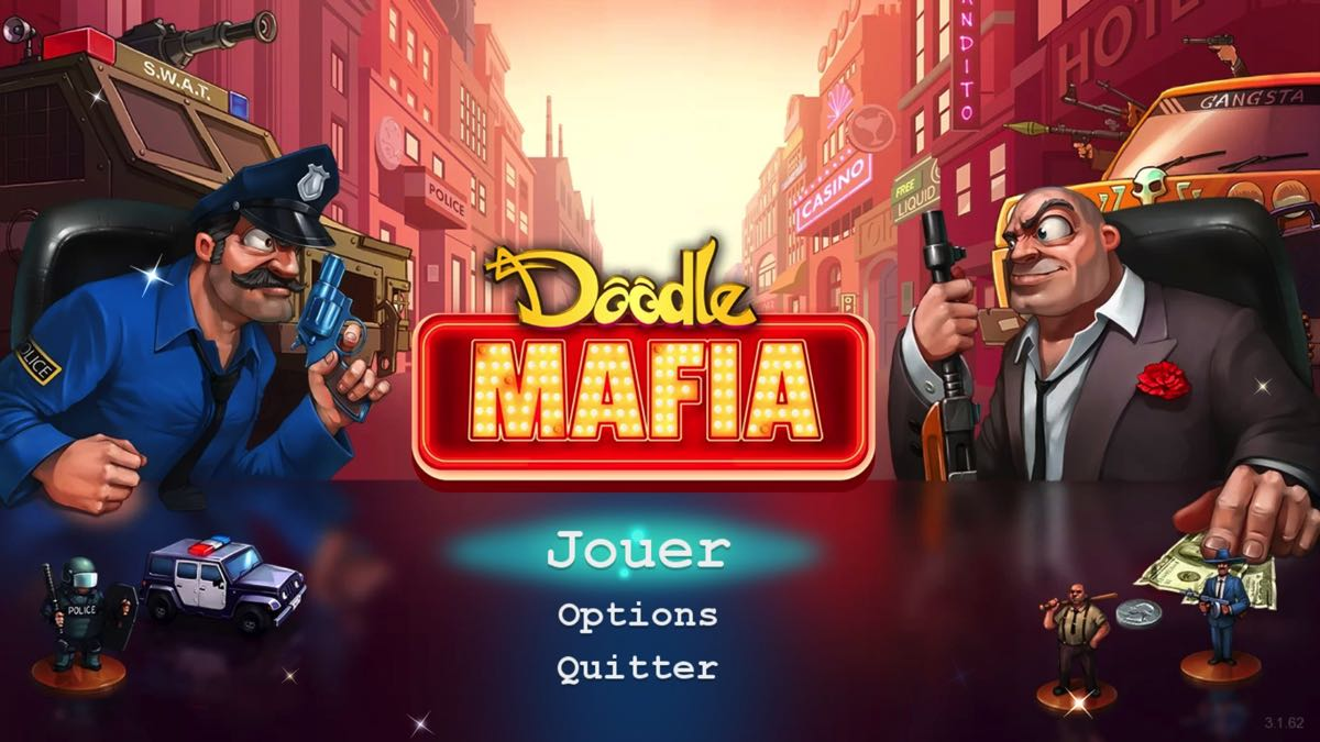 Doodle Mafia - JoyBits Ltd. - JoyBits Ltd. - Blacknut Cloud Gaming