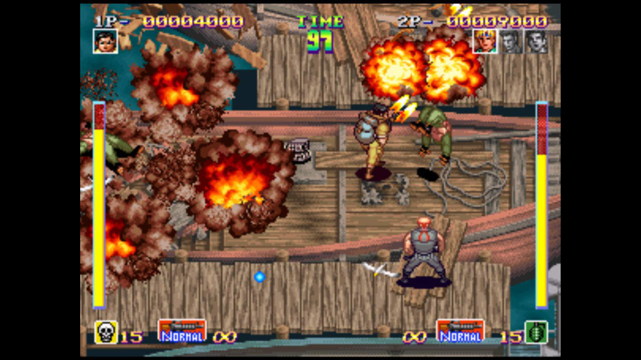 Shock Troopers - SNK CORPORATION - SNK CORPORATION - Blacknut Cloud Gaming