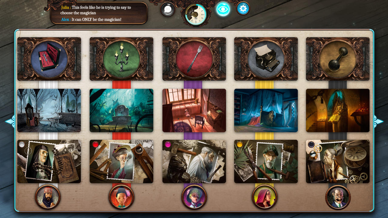 Mysterium : A Psychic Clue Game - Asmodee Digital - Asmodee Digital - Blacknut Cloud Gaming