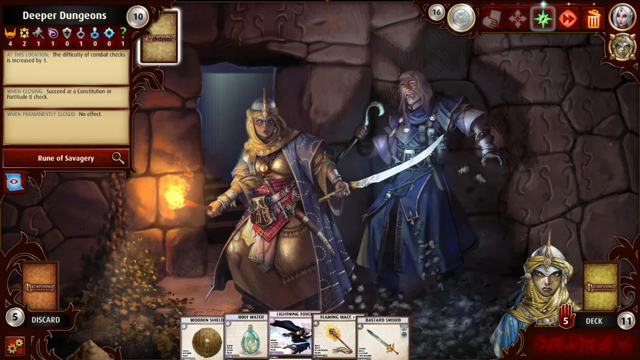 Pathfinder Adventures - Obsidian Entertainment - Asmodee Digital - Blacknut Cloud Gaming