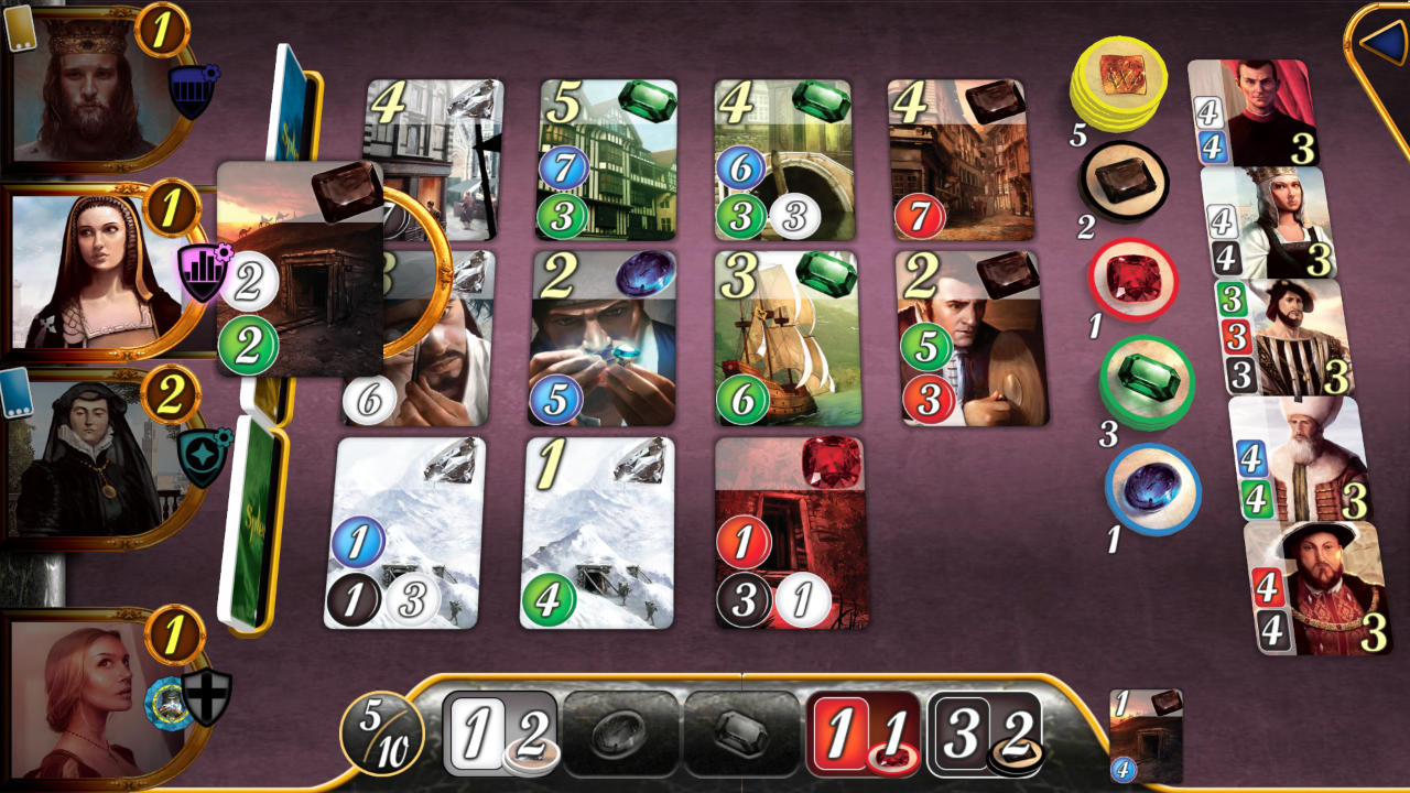 Splendor - Days of Wonder - Asmodee Digital - Blacknut Cloud Gaming