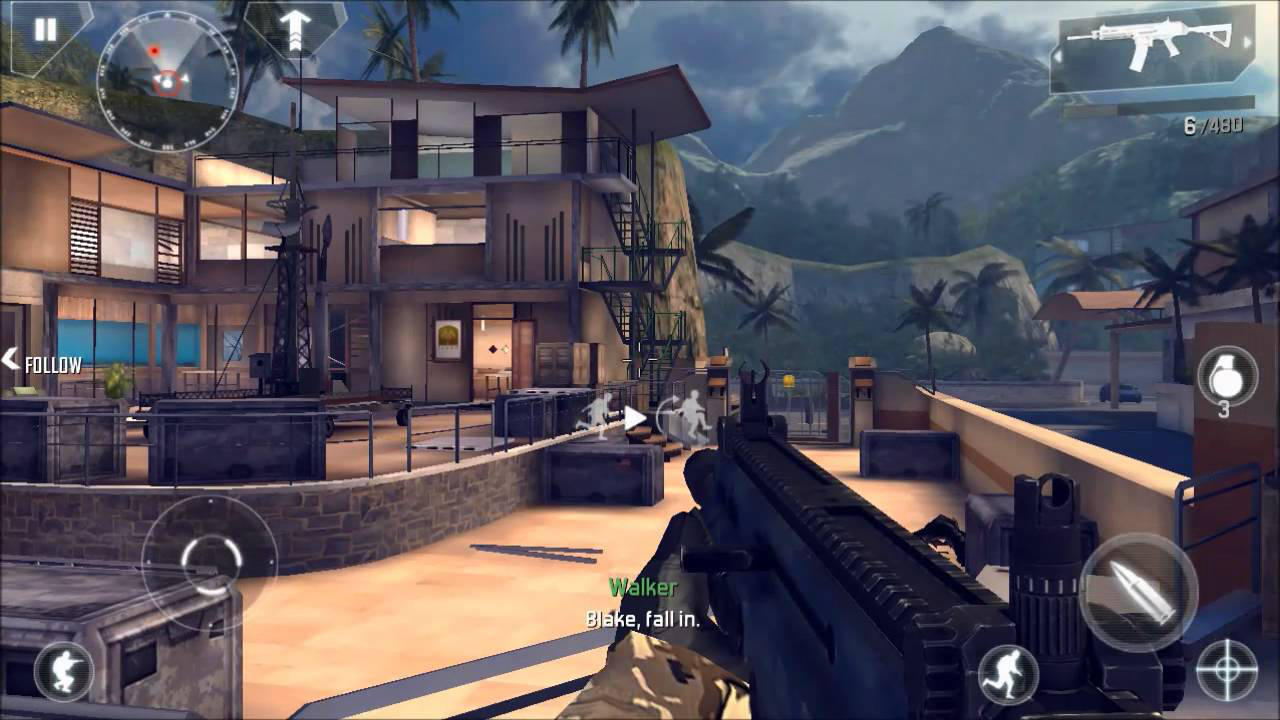 Modern Combat 4: Zero Hour - Gameloft - Gameloft - Blacknut Cloud Gaming