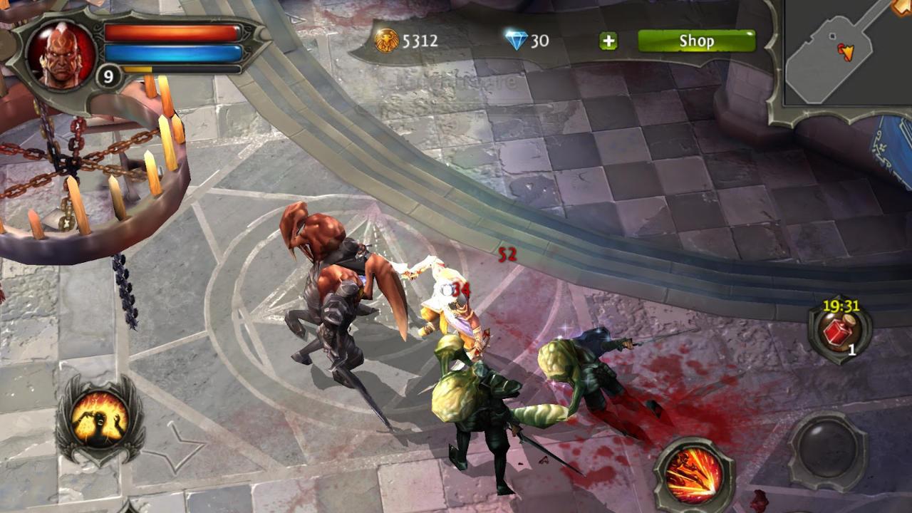 Dungeon Hunter 4 - Gameloft - Gameloft - Blacknut Cloud Gaming