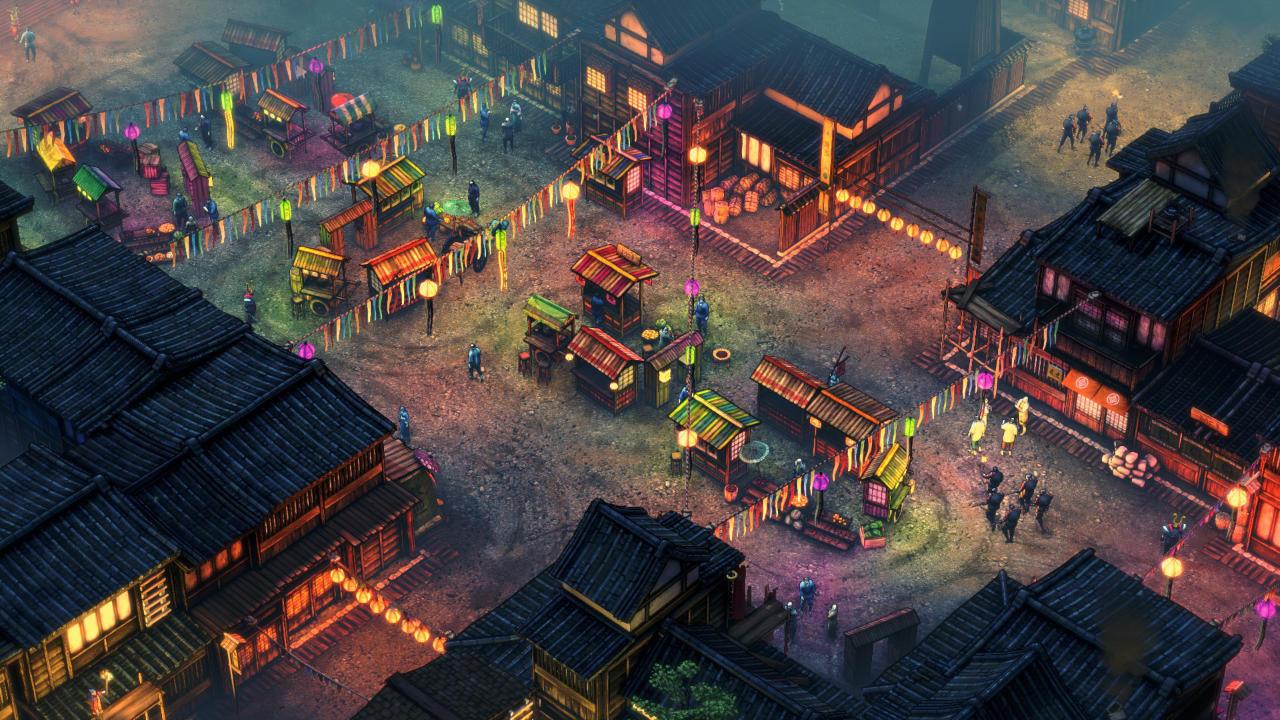Shadow Tactics: Blades of the Shogun - Mimimi Productions - Daedalic Entertainment - Blacknut Cloud Gaming