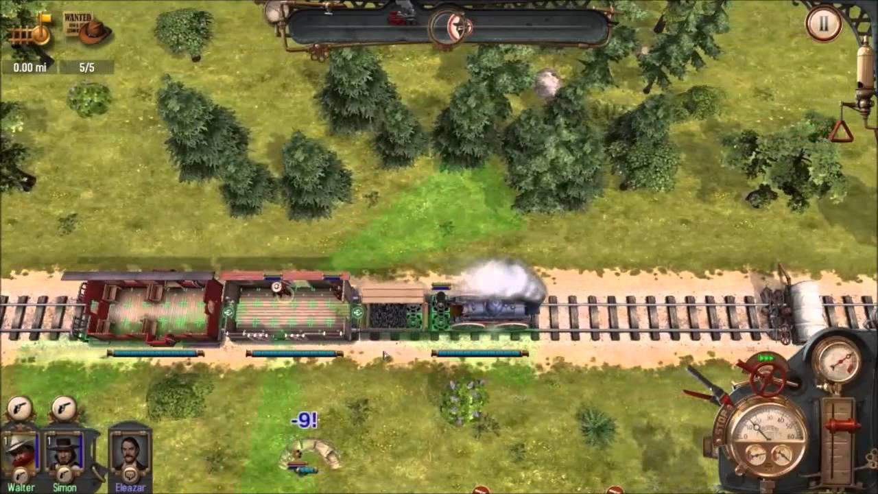 Bounty Train - Corbie Games - Daedalic Entertainment - Blacknut Cloud Gaming