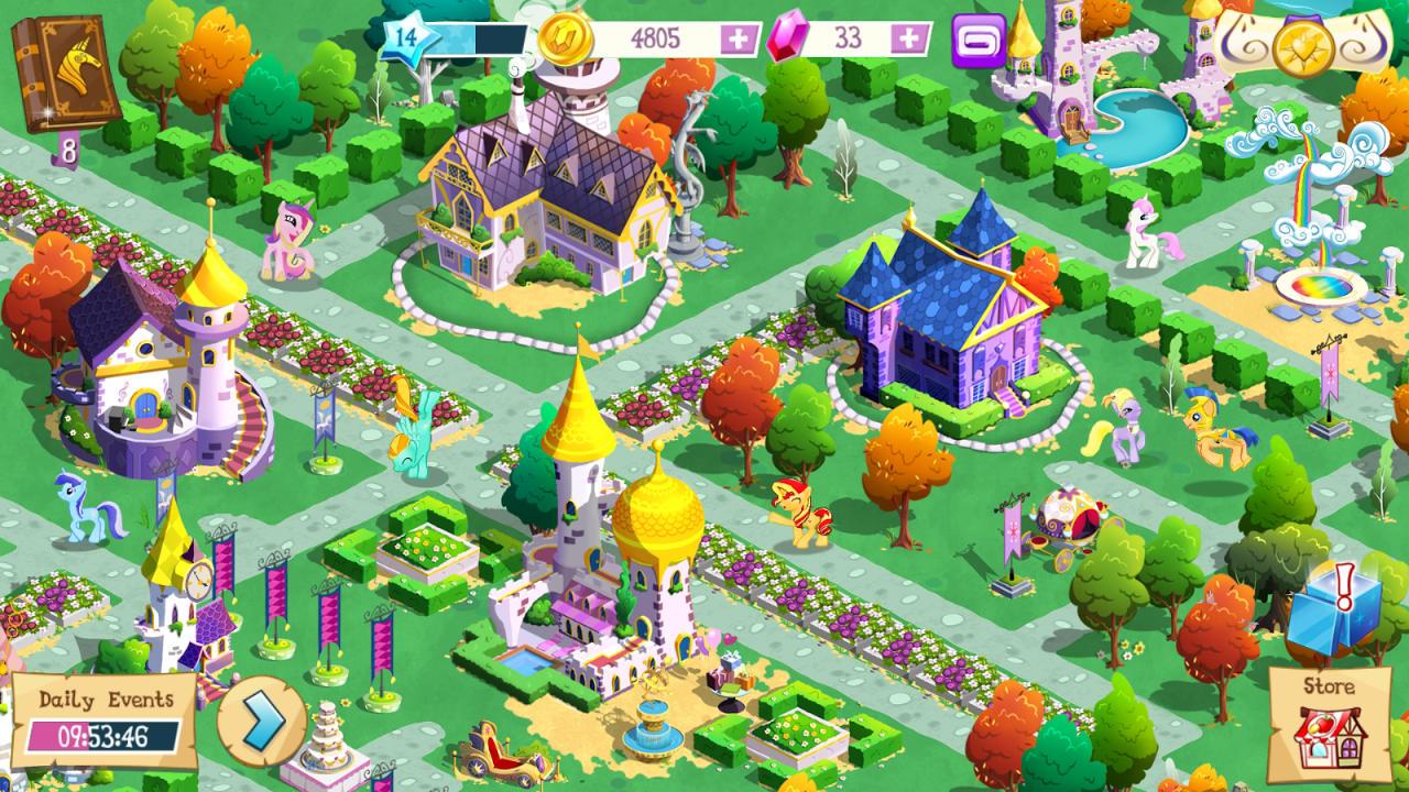 My Little Pony - Gameloft - Gameloft - Blacknut Cloud Gaming