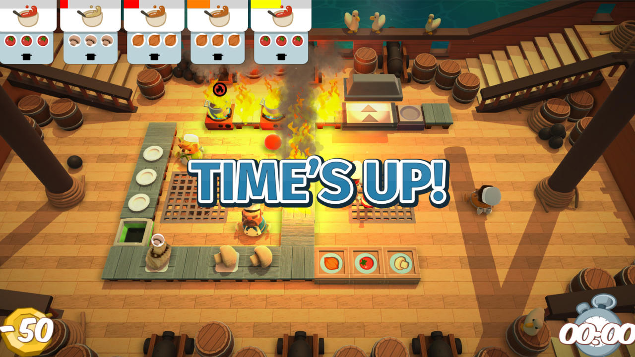 Overcooked - Ghost Town Games Ltd. - Team17 Digital Ltd - Blacknut Cloud Gaming