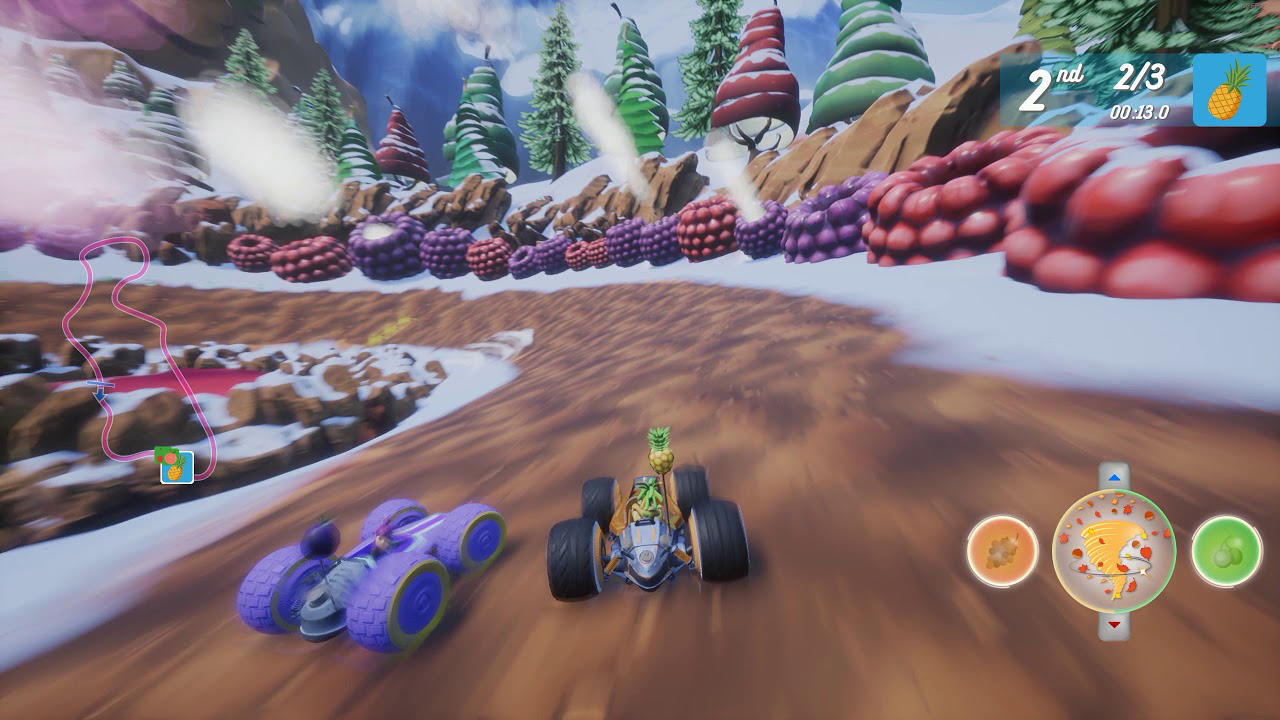 All-Star Fruit Racing - 3DClouds - PQube Limited - Blacknut Cloud Gaming