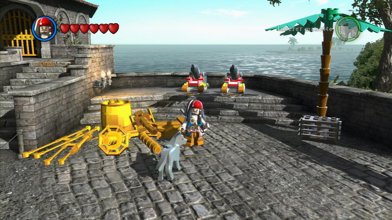 LEGO® Pirates of the Caribbean: The Video Game - Traveller's Tales - Disney - Blacknut Cloud Gaming