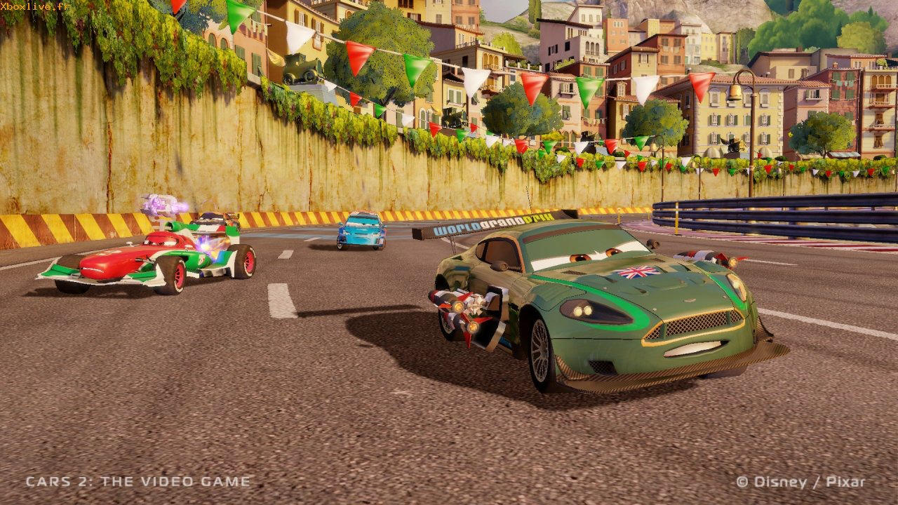Disney-Pixar Cars 2: Das Videospiel - Avalanche Software - Disney - Blacknut Cloud Gaming
