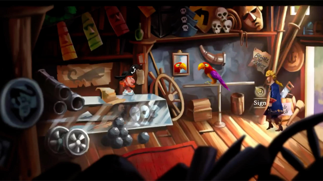 Monkey Island™ 2 Special Edition: LeChuck's Revenge™ - LucasArts - Disney - Blacknut Cloud Gaming