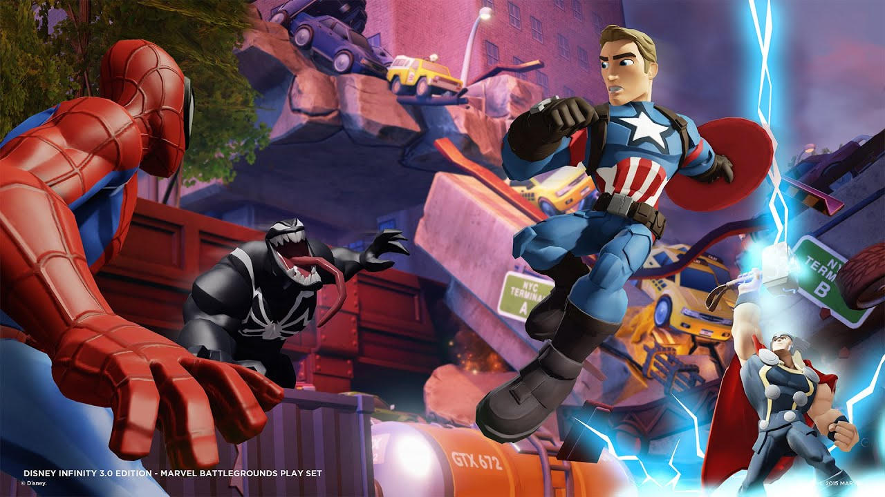 Disney Infinity 3.0: Gold Edition - Avalanche Software - Disney - Blacknut Cloud Gaming