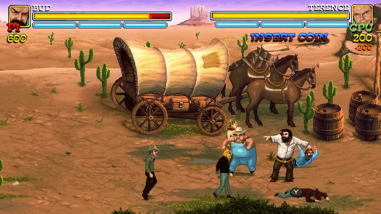 Bud Spencer & Terence Hill - Slaps And Beans - Trinity Team - Buddy Productions GmbH - Blacknut Cloud Gaming