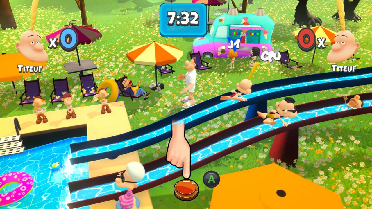Titeuf: Mega Party - Balio Studio - Microïds - Blacknut Cloud Gaming
