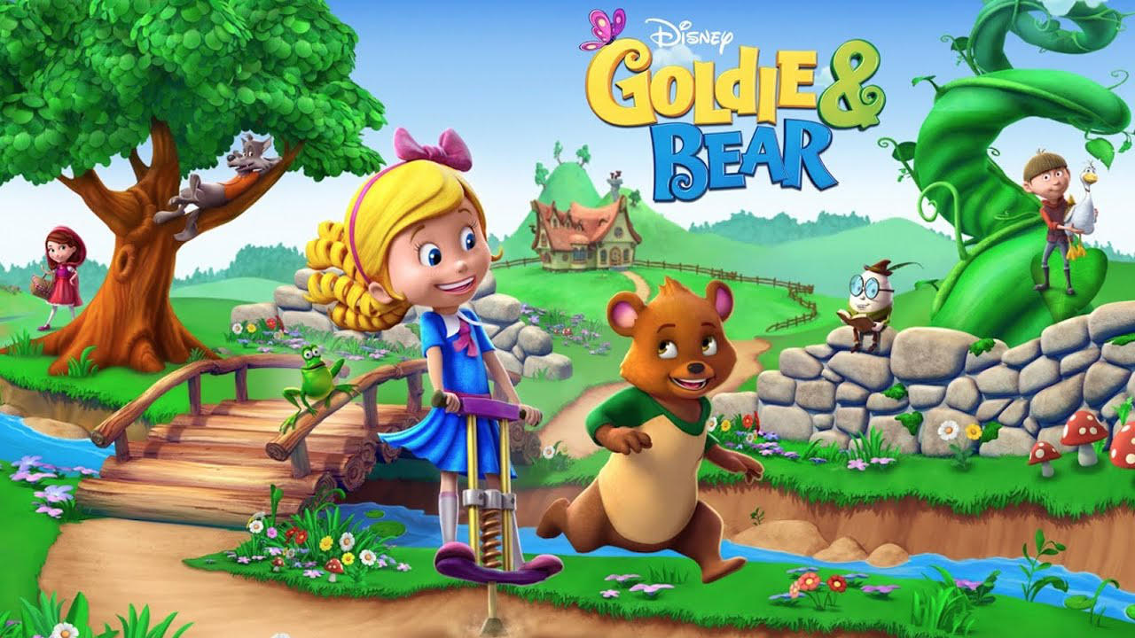 Disney Goldie & Bear : Fairy Tale Forest Adventures - Disney - Disney - Blacknut Cloud Gaming
