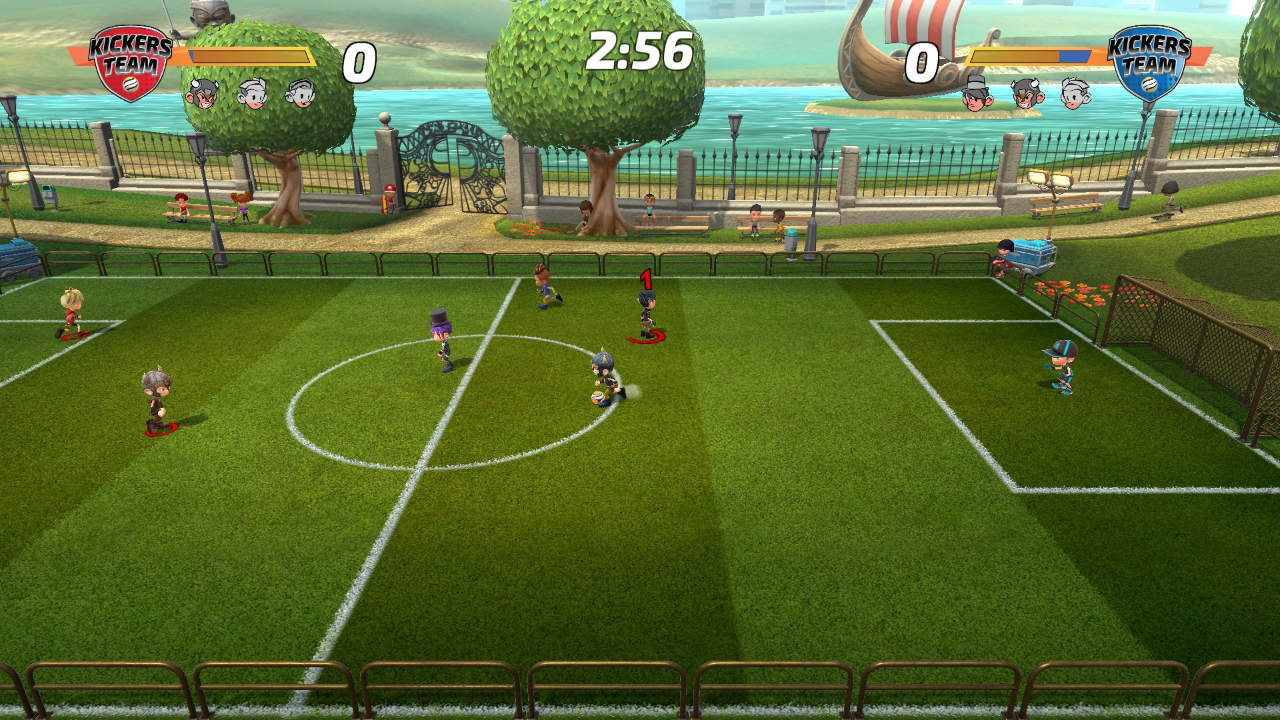 Super Kickers League Ultimate - Xaloc Studios - Just For Games - Blacknut Cloud Gaming