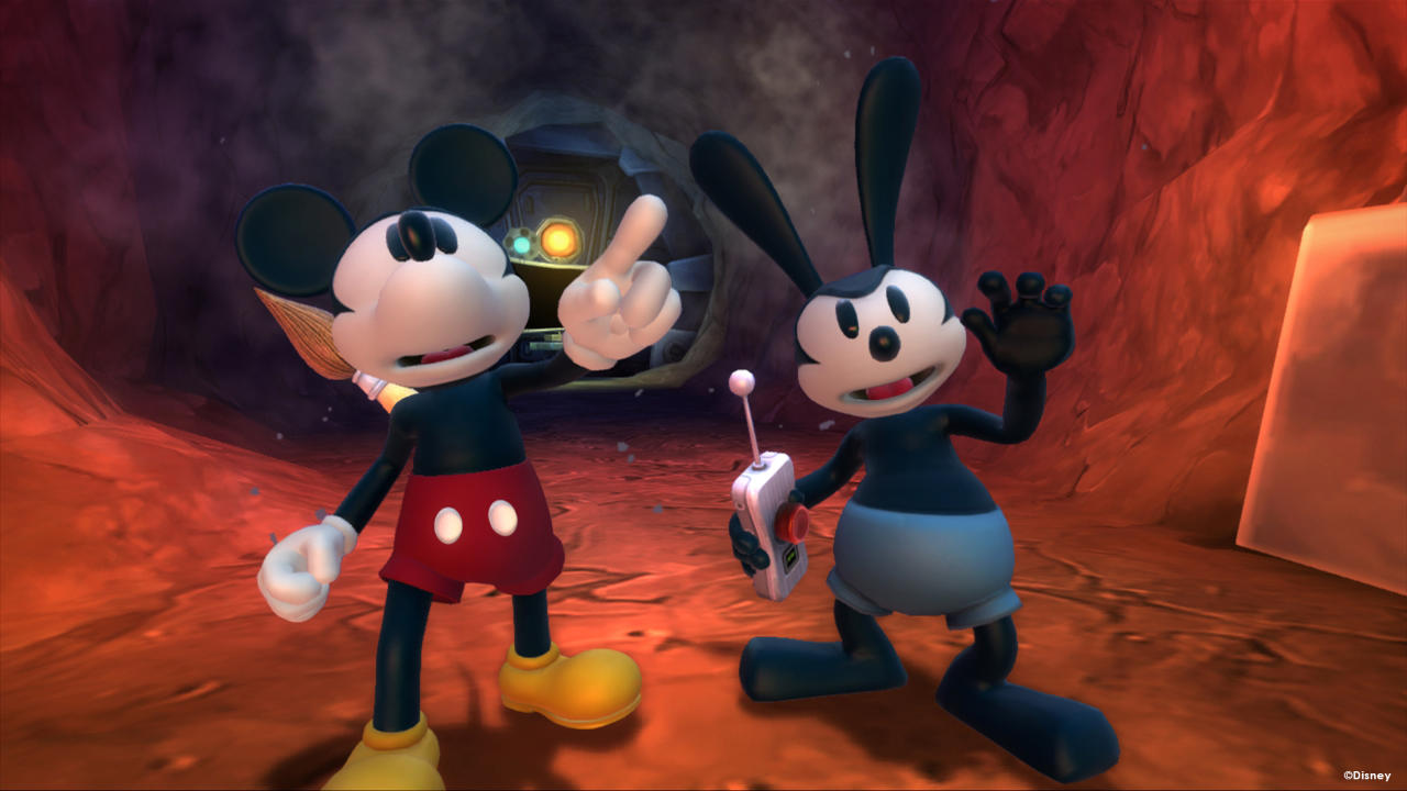 Disney Epic Mickey 2 : The Power of Two - Junction Point - Disney - Blacknut Cloud Gaming