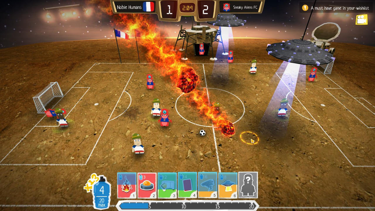 Crazy Soccer: Football Stars - Lion's Shade - HeroCraft - Blacknut Cloud Gaming