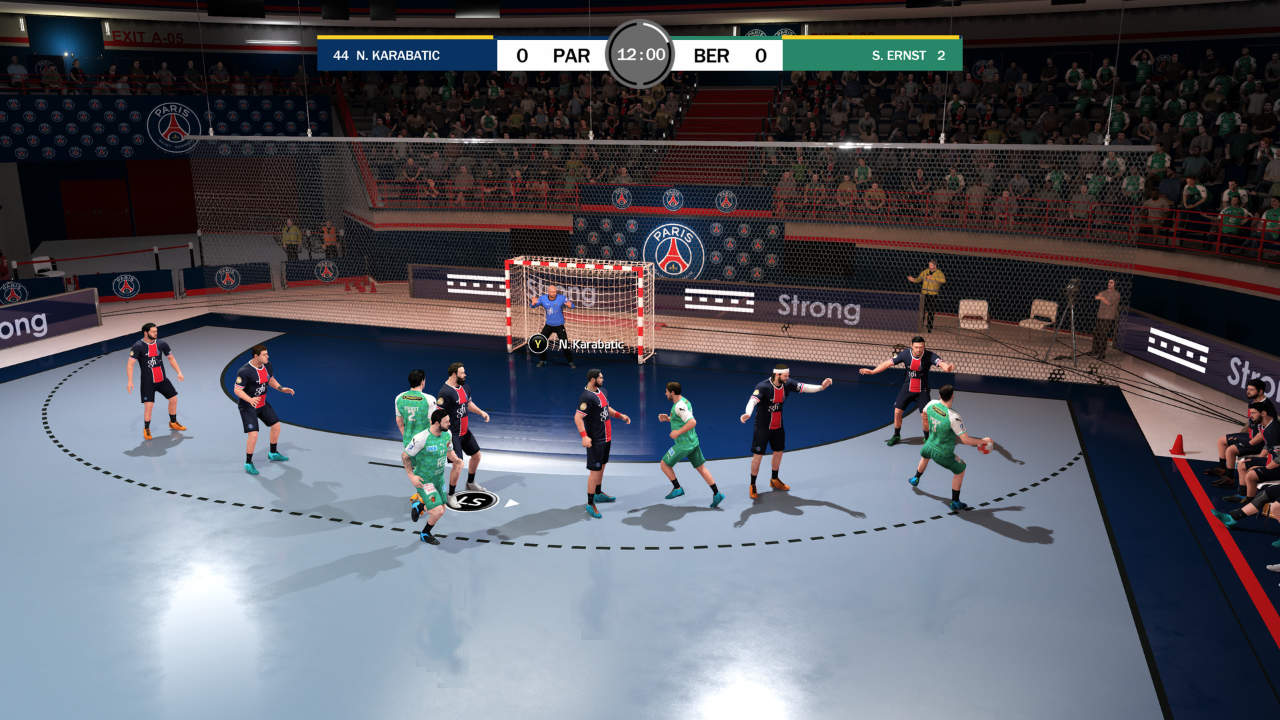 Handball 21 - Eko Software - Nacon - Blacknut Cloud Gaming