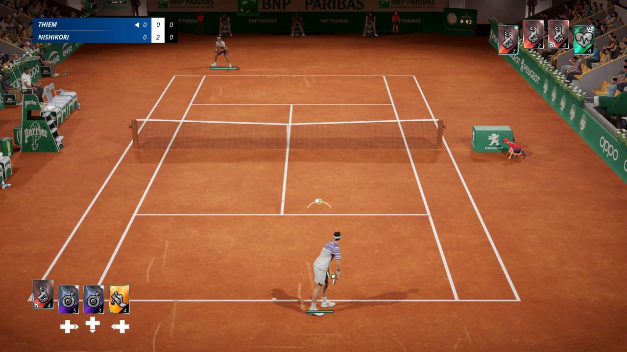 Tennis World Tour 2 - Big Ant Studios - Nacon - Blacknut Cloud Gaming