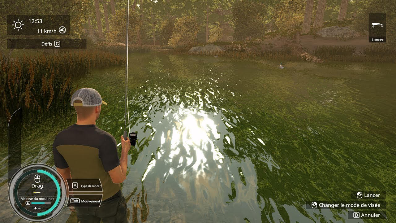 Pro Fishing Simulator - Sanuk Games - Nacon - Blacknut Cloud Gaming