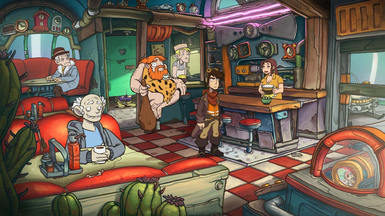 Deponia Doomsday - Daedalic Entertainment - Daedalic Entertainment - Blacknut Cloud Gaming
