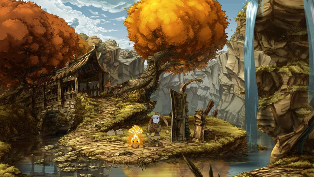 The Whispered World Special Edition - Daedalic Entertainment - Daedalic Entertainment - Blacknut Cloud Gaming