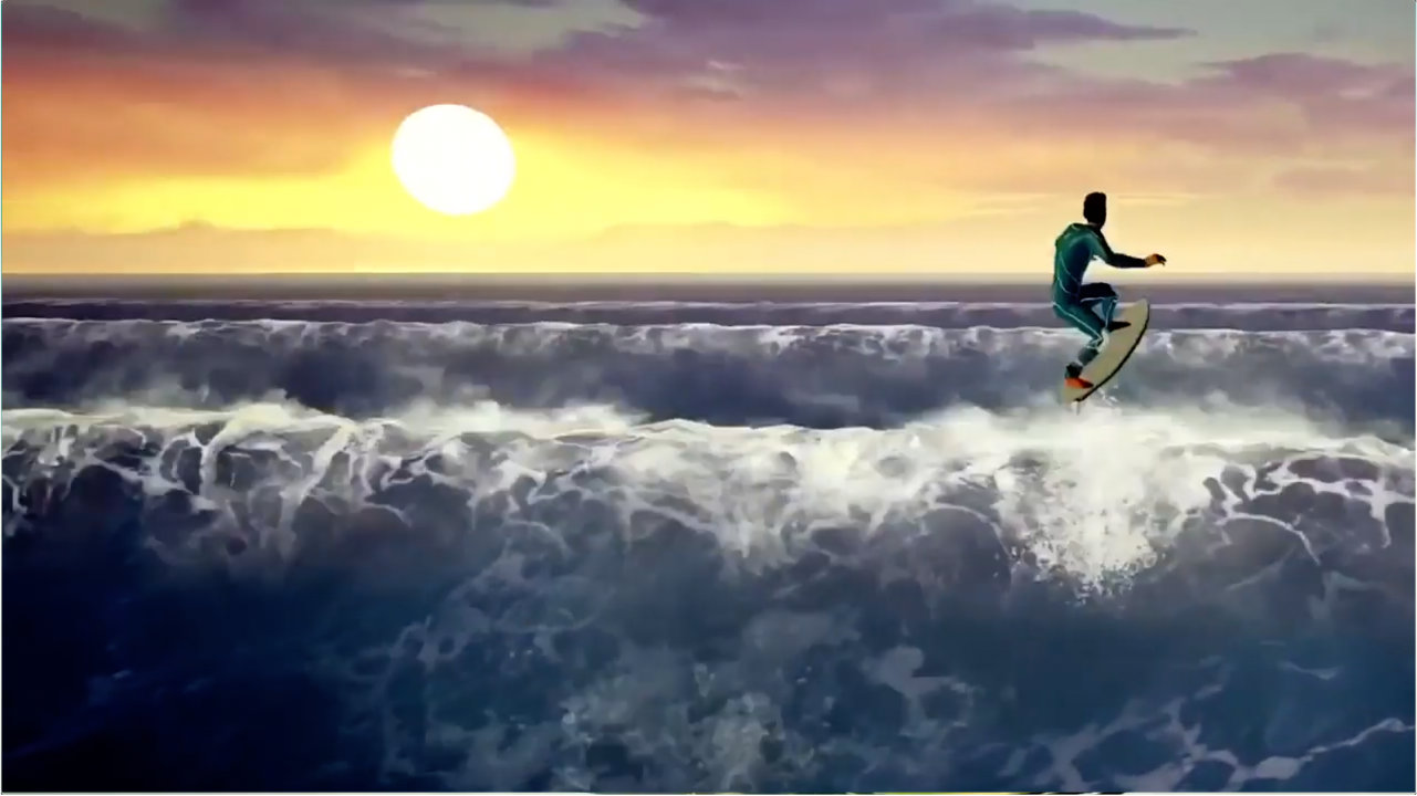 Surf World Series - Climax Studios - Vision Games Publishing LTD - Blacknut Cloud Gaming