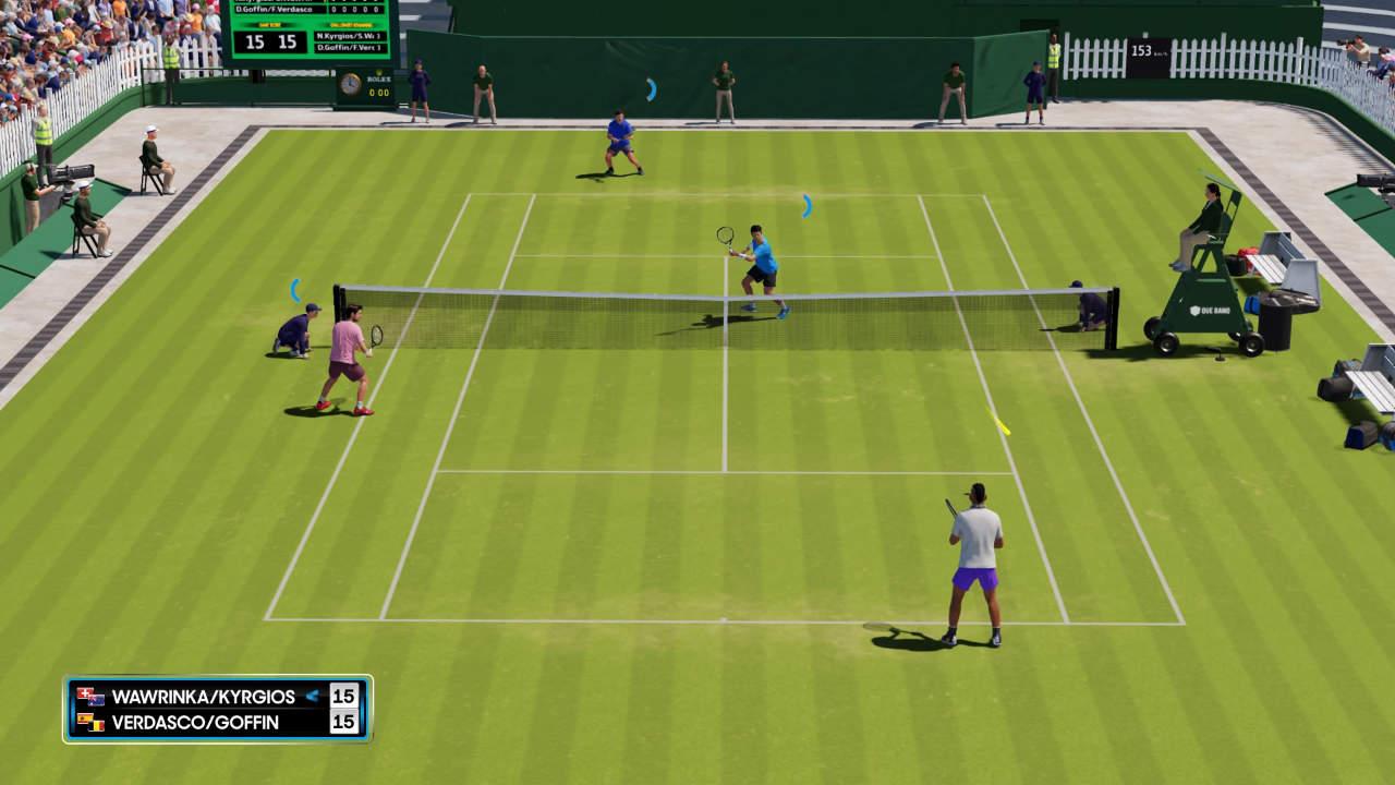 AO Tennis 2 - Big Ant Studios - Nacon - Blacknut Cloud Gaming