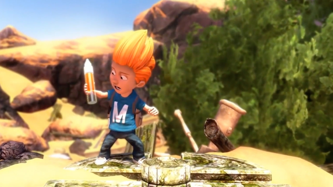 Max: The Curse of Brotherhood - Press Play - Xbox Game Studios - Blacknut Cloud Gaming
