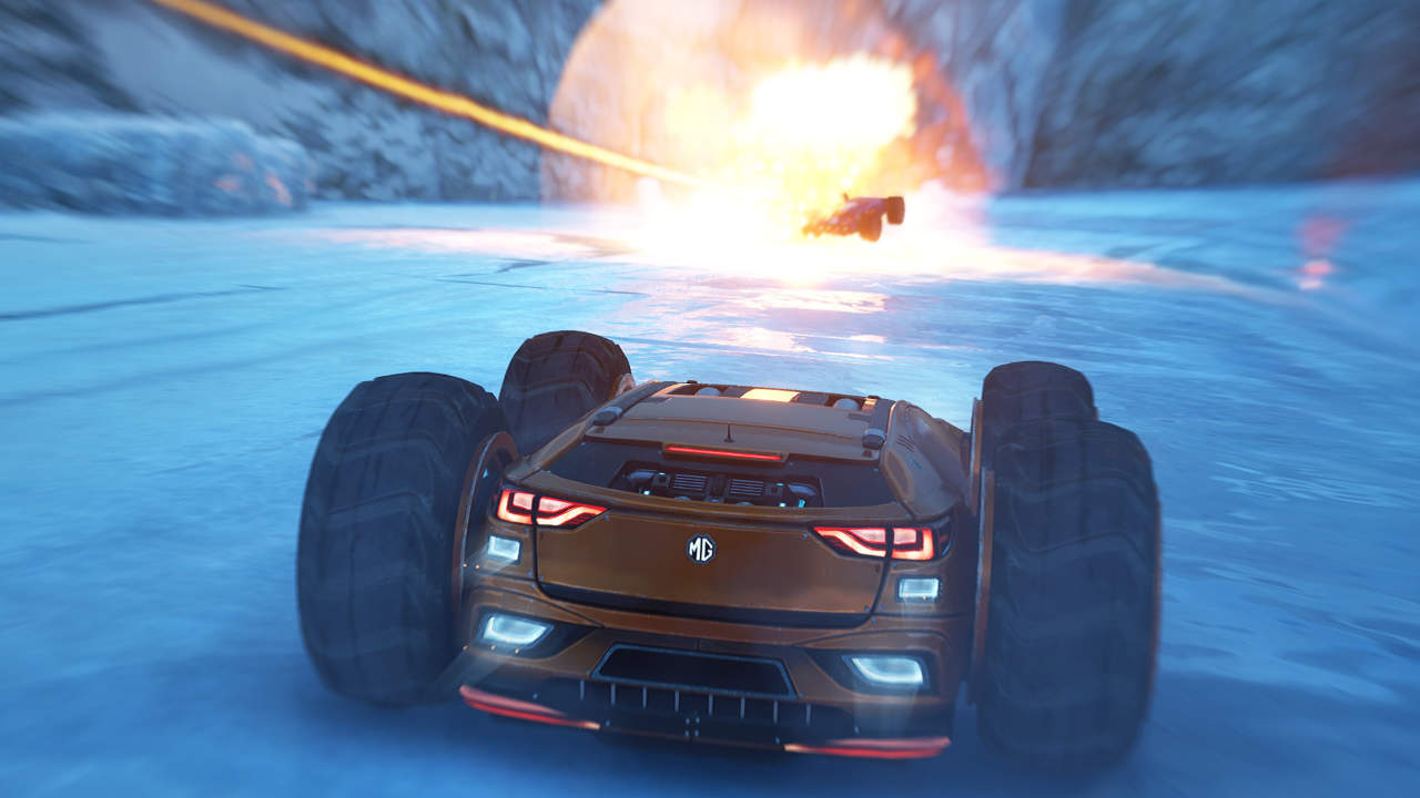 GRIP: Combat Racing - Caged Element Inc. - Wired Productions - Blacknut Cloud Gaming