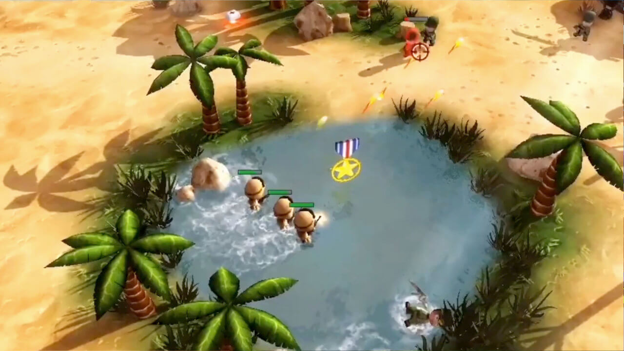 Tiny Troopers Joint Ops XL - Epiphany Games - Wired Productions - Blacknut Cloud Gaming