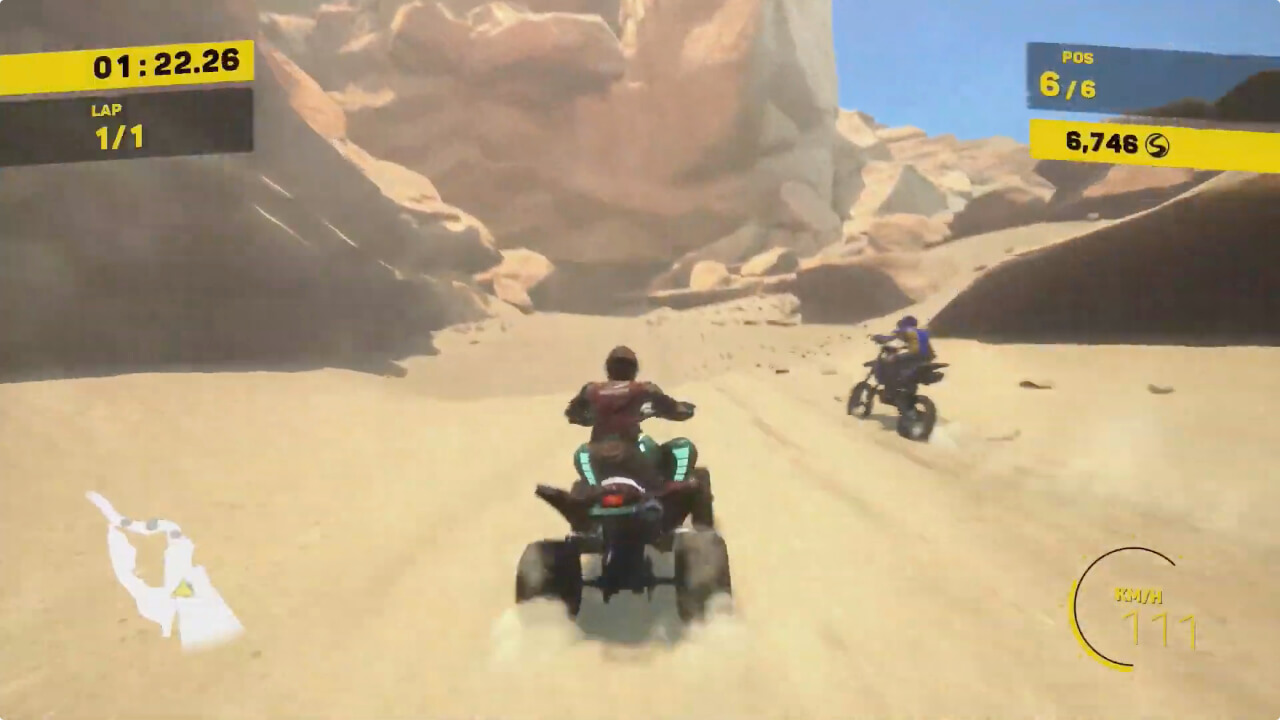 Offroad Racing - Buggy X ATV X Moto - Artefacts Studios - Microïds - Blacknut Cloud Gaming