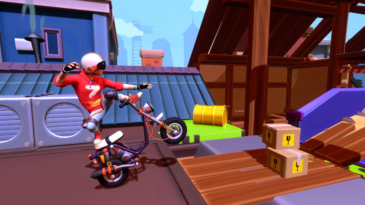 Urban Trial Tricky Deluxe Edition™ - Tate Multimedia - Tate Multimedia - Blacknut Cloud Gaming