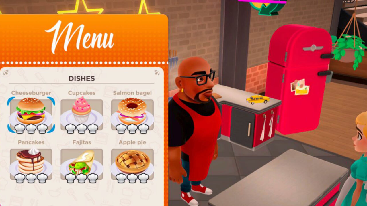 My Universe - Cooking Star Restaurant - Old Skull Games - Microïds - Blacknut Cloud Gaming